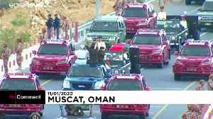 News video: Oman swears in successor to Sultan Qaboos