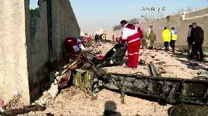 Some debris moved from Iran crash site to airport hangar -Canada FM [Video]