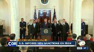 U.S. imposes new sanctions on Iran [Video]