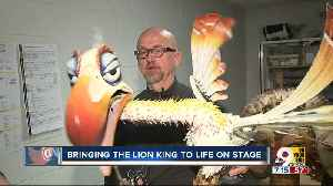 How they bring 'The Lion King' to life on stage [Video]