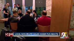 Nonprofit hosts 'Soberly Fun' nights at Brown Dog Cafe [Video]