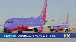 FAA Seeks $3.9M Fine Against Southwest Airlines Over Improper Weight And Balance On Flights [Video]