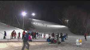 Skiers Hit Slopes Before Weekend Warm-Up [Video]