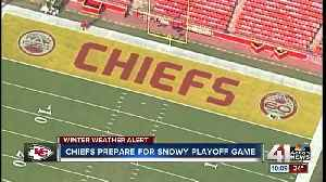 Chiefs game plan for winter storm this weekend [Video]