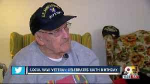 Hamilton Air Force veteran celebrates 100th birthday [Video]