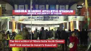 3rd edition of 'Khelo India Youth Games 2020' begins in Guwahati [Video]