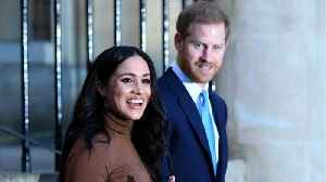 Harry And Meghan Future Talks With Royals Going Well [Video]