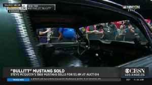 News video: 'Bullitt' Mustang Sells At Auction For $3.4 Million