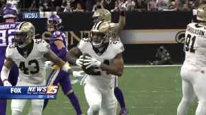 Different kind of heartbreak for Saints: One and done after 13-3 regular season [Video]