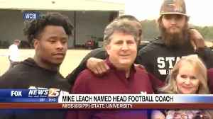 Mike Leach named head football coach at Mississippi State [Video]
