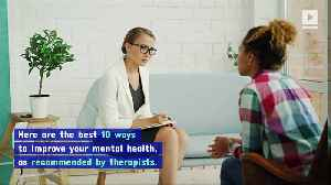 10 Ways to Improve Your Mental Health in 2020 [Video]