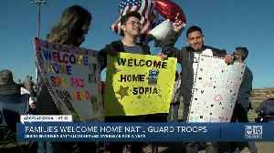 Families welcome home National Guard troops in Phoenix [Video]