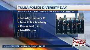 """First ever """"Diversity in Policing"""" recruiting event with TPD [Video]"""