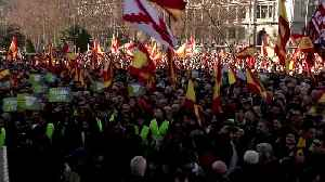 Thousands protest against new Spanish government [Video]