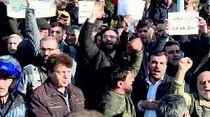 Iranians protest at UK embassy in Tehran, demand closure [Video]