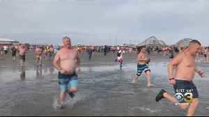 1,100 Take Plunge In Wildwood At Annual Special Olympics New Jersey Polar Bear Plunge [Video]