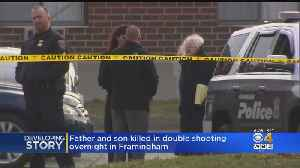 Framingham Shooting Leaves Father, Son Dead [Video]