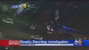 1 Dead, 1 Wounded In Baldwin Park Shooting [Video]