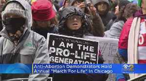 Anti-Abortion Demonstrators Hold March For Life [Video]