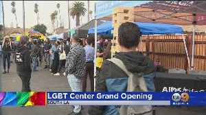 Los Angeles LGBT Center Opens First Facility In South LA [Video]