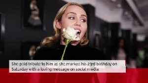 Miley Cyrus wishes happy birthday to Cody Simpson [Video]