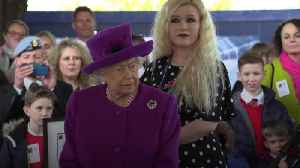 The Queen arrives for church ahead of royal crisis talks [Video]