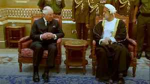 Charles meets Oman's new sultan [Video]