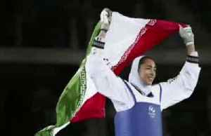 Iran's only female Olympic medallist defects [Video]