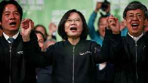 Tsai Ing-wen wins landslide in Taiwan presidential election