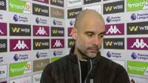 News video: Guardiola: Aguero is incredible