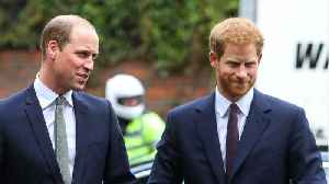 News video: Prince William Told A Friend He And Prince Harry Are 'Separate Entities'
