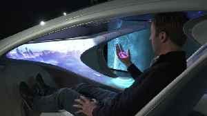 Mercedes-Benz VISION AVTR - Interior 'Seat Buck' [Video]