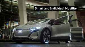 Mobility smart and individual – The Audi highlights at CES 2020 [Video]