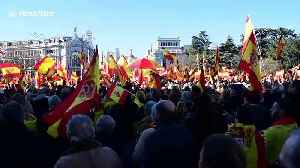 Thousands protest in Madrid against new Spanish government [Video]