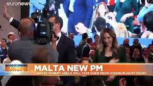 Malta's new PM promises to stengthen rule of law amid political and legal crisis [Video]