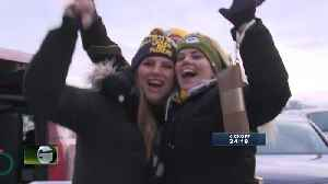 Packers fans ready to take on Seahawks [Video]