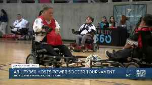 Ability360 hosts power soccer tournament [Video]