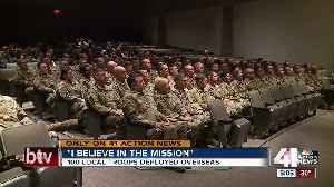 Local Army Reserve soldiers prepare for Middle East deployment [Video]