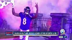 Darius Butler joins Paxton Boyd on Honda Five Sports Live [Video]