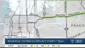 Pasco County's Ridge Road Extension Project finally starting [Video]