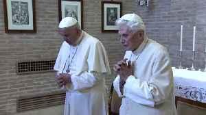 Benedict breaks silence on Vatican's celibacy debate [Video]