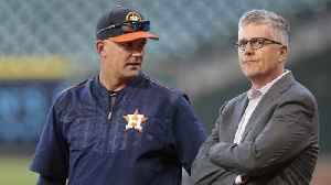 Houston Astros Fire GM And Manager For Sign-Stealing [Video]
