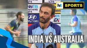 Watch: India, Australia prepare for 3-match ODI series [Video]