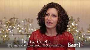 News video: NBCUniversal's Denise Colella: The Launch of One Platform Brings Addressability to Linear Ads
