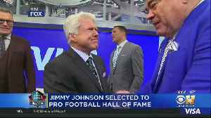 Former Dallas Cowboys Coach Jimmy Johnson Elected To Hall Of Fame [Video]