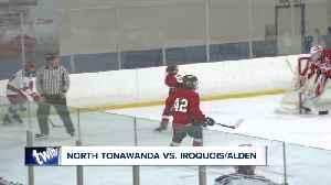 HS Hockey: North Tonawanda vs. Iroquois/Alden [Video]