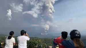 Volcanic tsunami feared as Philippine volcano spews molten lava [Video]