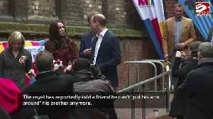 Prince William 'can't put his arm around Prince Harry anymore' [Video]