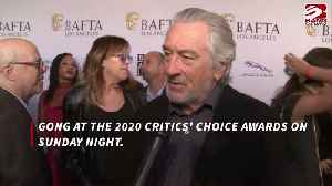 Robert De Niro's Critics' Choice Award quip [Video]