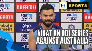 Watch: 'Australia playing intense cricket': Virat Kohli ahead of ODI series [Video]